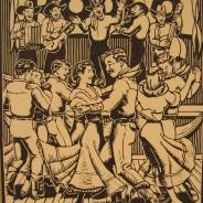 Linoleum Print – 1952