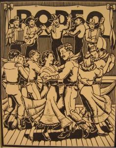 Linoleum Print - 1952