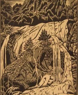 Linoleum Print – 1953
