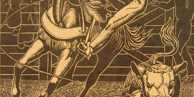 Linoleum Print – 1955