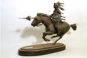 Prairie Knight - Metal Sculpture