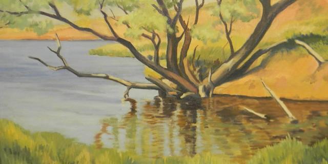 Oklahoma Landscape – Oil Painting