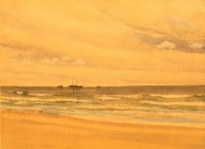 Watercolor - Ship